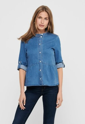 Overhemdblouse - medium blue denim