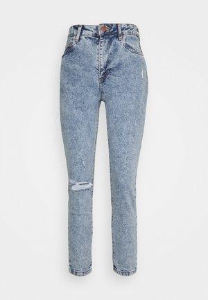 STRETCH MOM - Jeans Slim Fit - jetty blue