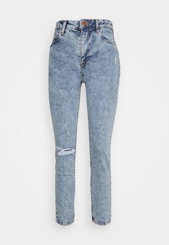 STRETCH MOM - Slim fit jeans - jetty blue