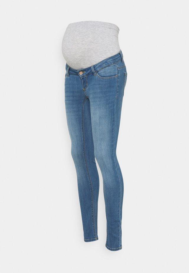 PCMDELLA - Skinny džíny - light blue denim