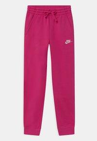 Nike Sportswear - CORE SET - Tracksuit - fireberry/white - 2