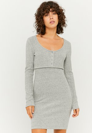 Shift dress - grey