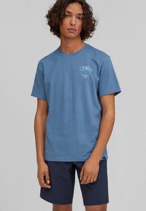 SOLOMON SEA - T-shirt med print - walton blue