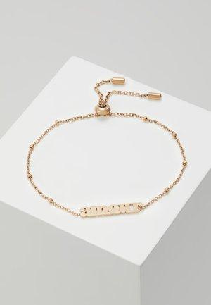 VINTAGE MOTIFS - Armbånd - rose gold-coloured