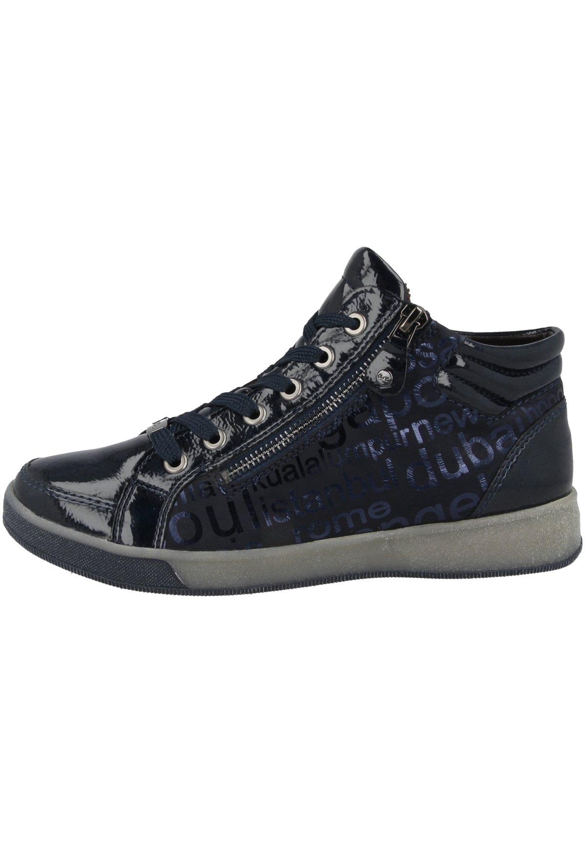 Damen Sneaker high - navy blue