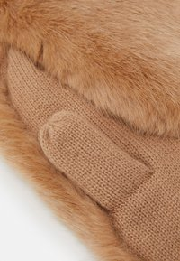 Barts - DOROTHY MITTS - Mittens - light brown - 2