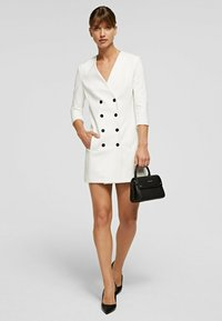 KARL LAGERFELD - Shirt dress - off white - 1