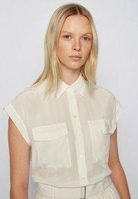 BOSS - Button-down blouse - natural - 3
