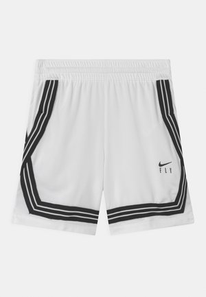 FLY CROSSOVER - Sports shorts - white/black