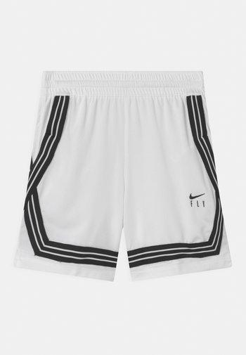 FLY CROSSOVER - Sports shorts - white/black