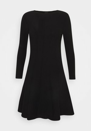 LIBERIA DRESS - Robe pull - nero