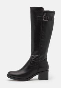 Tamaris - BOOTS - Vysoká obuv - black - 1