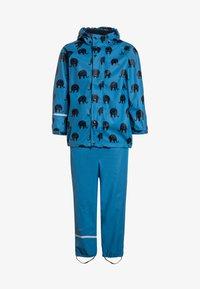 CeLaVi - RAINWEAR SUIT SET - Waterproof jacket - blue - 0