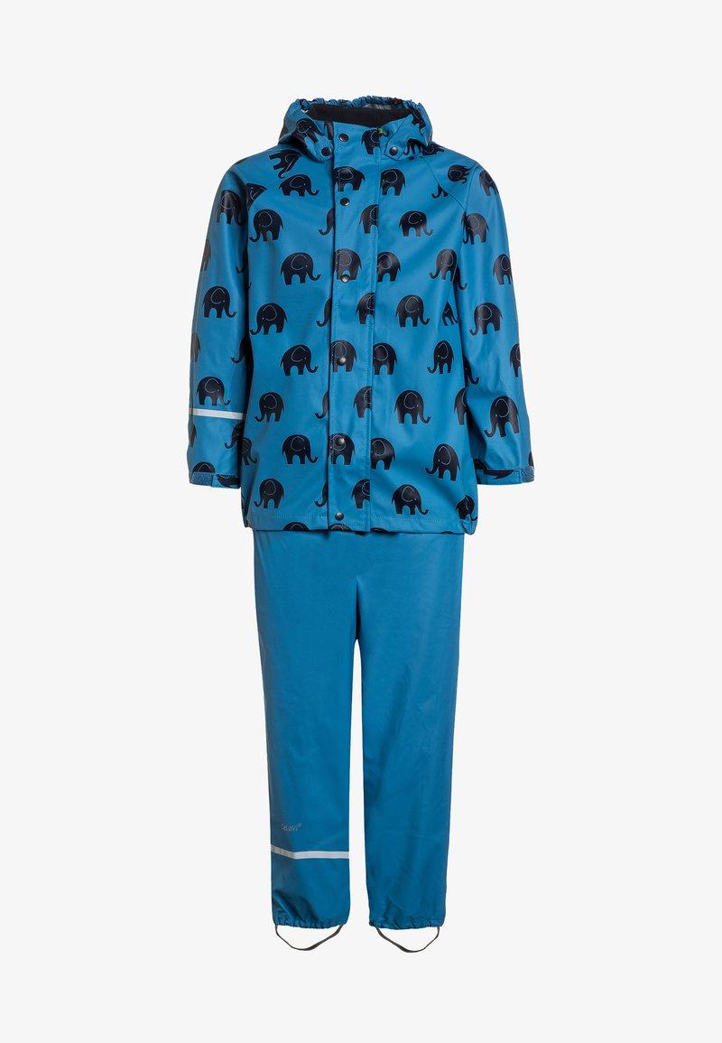 CeLaVi - RAINWEAR SUIT SET - Waterproof jacket - blue