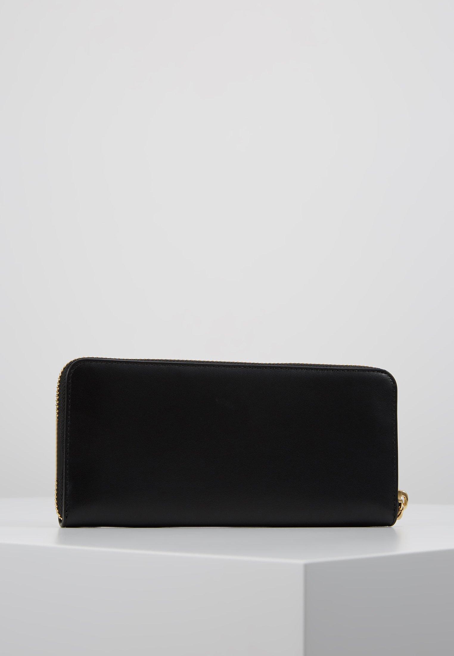 Coach SLIM ACCORDION ZIP - Lommebok - gold-coloured/black/svart 4CoyqVL47r3Ll7k
