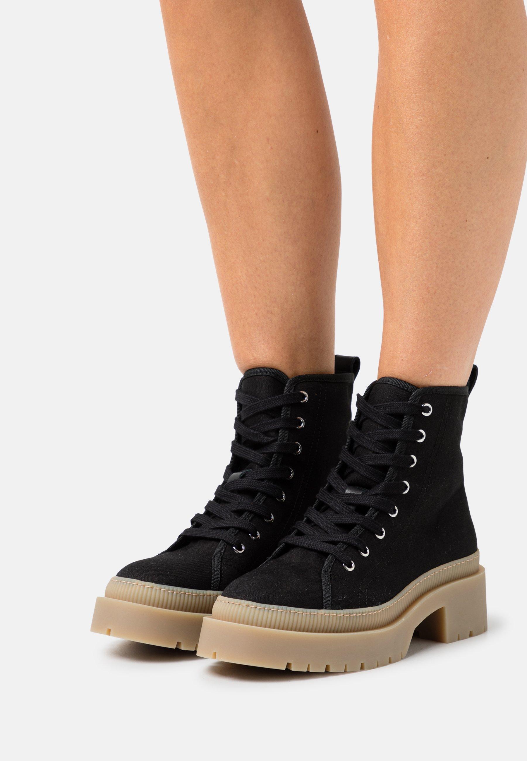 Women YASCANVASI BOOTS - Platform ankle boots