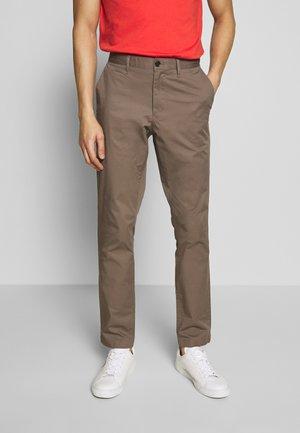 SKINNY - Chino kalhoty - taupe