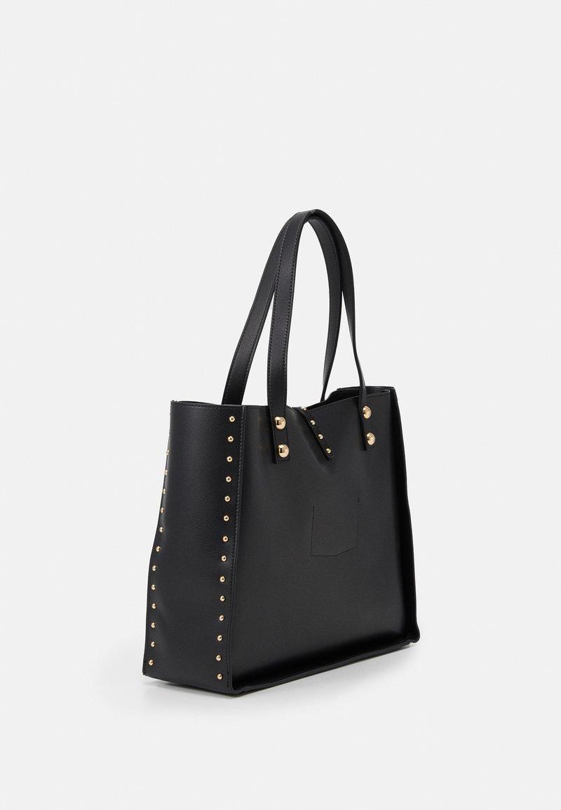 Trussardi - DAFNE SHOPPING SET - Shopping bag - black
