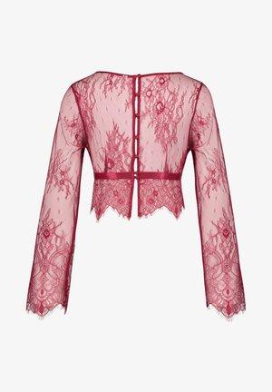 Pyjama top - red