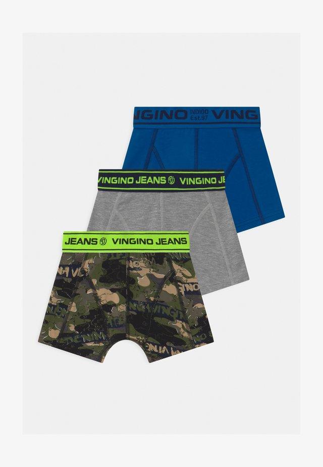 CAMEROENE 3 PACK - Panties - multicolor army green