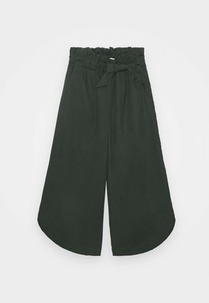 NKFLANIE WIDE ANCLE PANT - Trousers - darkest spruce