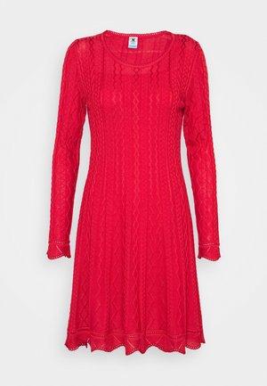 ABITO - Abito in maglia - red