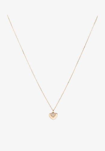 PREMIUM - Necklace - roségold-coloured