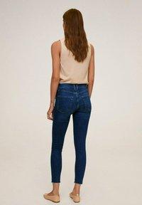 Mango - ISA - Jeans Skinny Fit - donkerblauw - 2