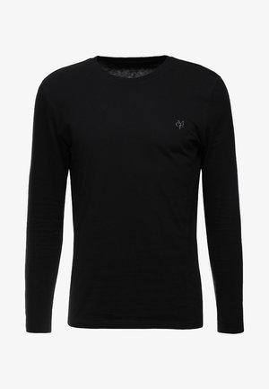 LONG SLEEVE ROUND NECK - Langærmede T-shirts - black