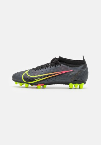 MERCURIAL VAPOR 14 PRO AG - Moulded stud football boots - black/cyber/off noir