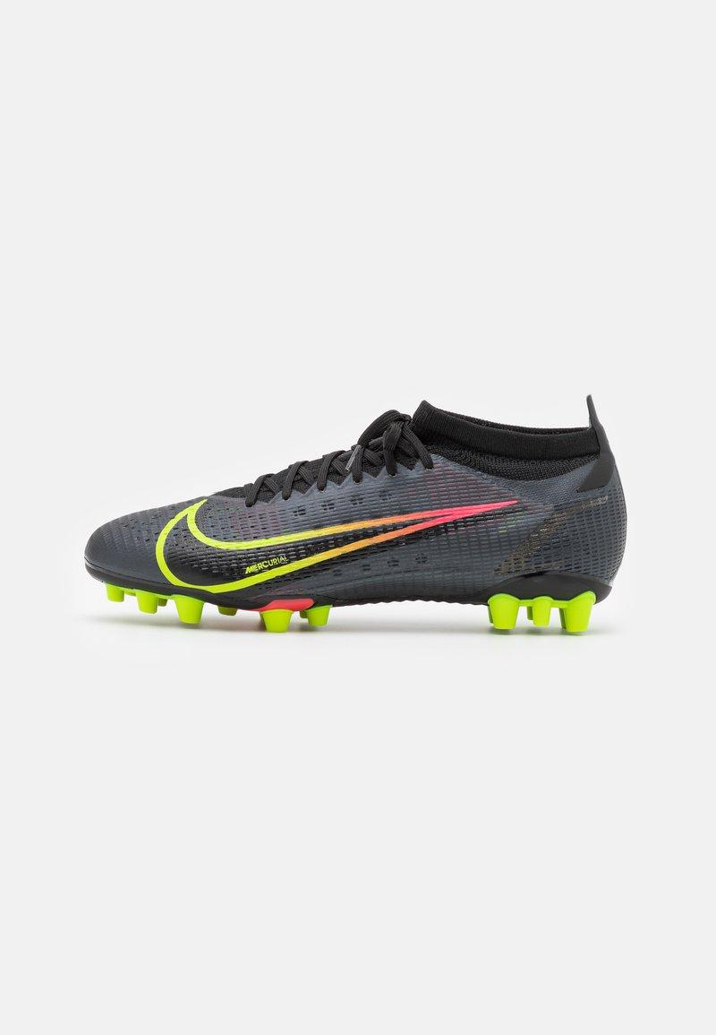 Nike Performance - MERCURIAL VAPOR 14 PRO AG - Fotbollsskor fasta dobbar - black/cyber/off noir