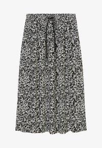 Marc O'Polo DENIM - A-line skirt - multi black - 0