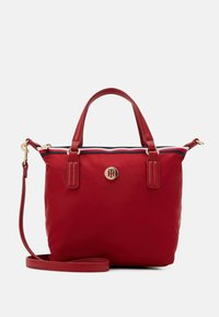 Tommy Hilfiger - POPPY SMALL TOTE CORP - Bolso de mano - red - 0