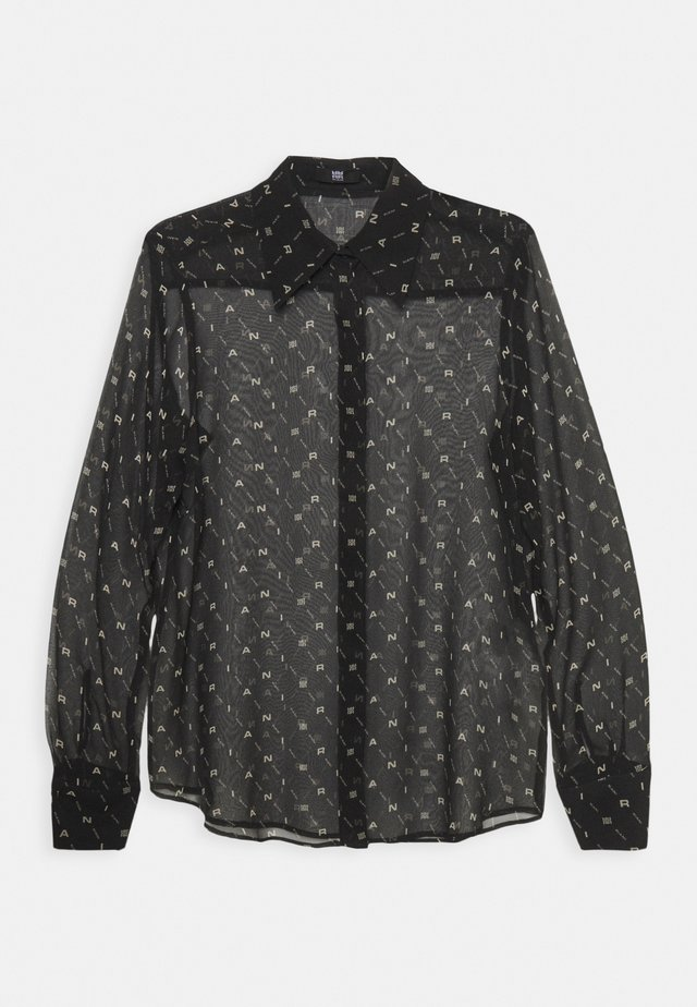BLUSE - Blusa - black patterned
