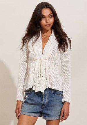 CAN-CAN - Cardigan - light chalk