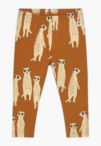 Lindex - LEO & MEERKAT SET  - Leggings - brown - 1