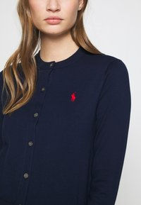Polo Ralph Lauren - CARDIGAN LONG SLEEVE - Chaqueta de punto - bright navy - 5