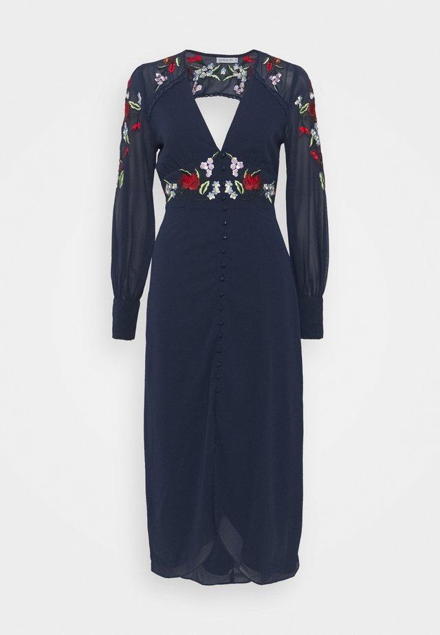 ODETTE - Robe de soirée - navy