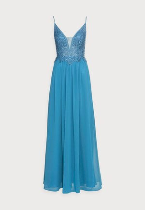 Robe de cocktail - steele blue