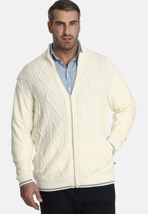 DUKE RAMIN - Cardigan - woolen white