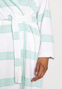 TOM TAILOR - HAMAM BATHROBE - Dressing gown - mint - 5