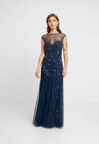 Lace & Beads Petite - MALIA MAXI - Společenské šaty - blue - 2
