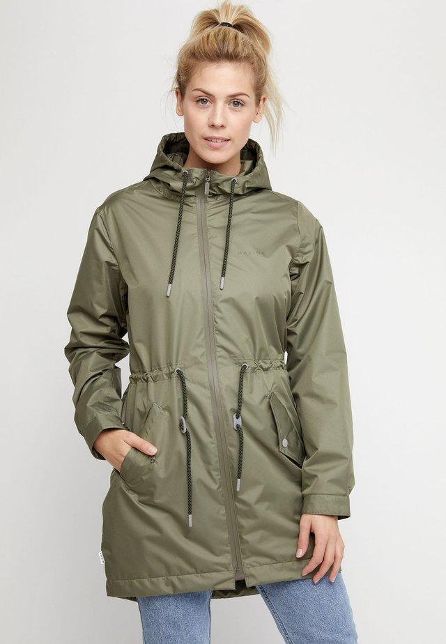 Waterproof jacket - dusty olive