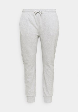 EIDER PANTS - Tracksuit bottoms - light grey melange bros