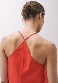 Massimo Dutti - TASCHEN - Day dress - red - 2