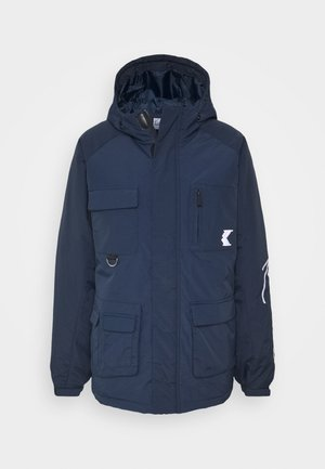 SIGNATURE PADDED UTILITY JACKET - Parkaer - navy