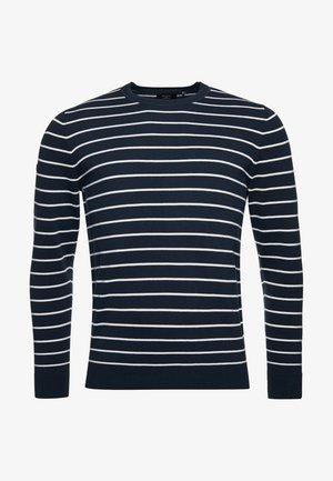 Pullover - eclipse navy stripe