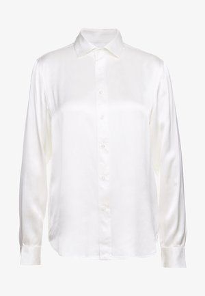 Button-down blouse - trophy cream
