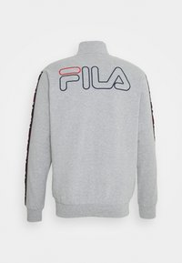 Fila - BRUSHED WITH FULL ZIP - Pyžamo - grey - 2