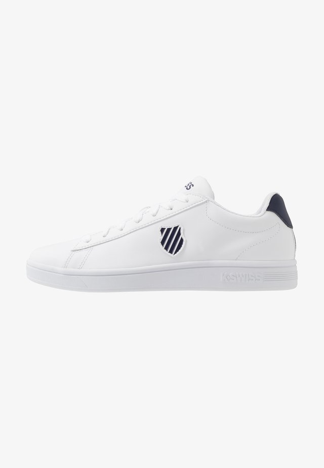 COURT SHIELD - Trainers - white/navy
